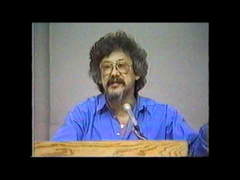 JP Rushton and David Suzuki debate at the University of Western Ontario, February 8th, 1989
