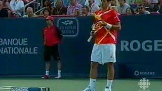 1 - 2007 Montreal Masters 1000 - Djokovic vs Nadal SF - full match tennis