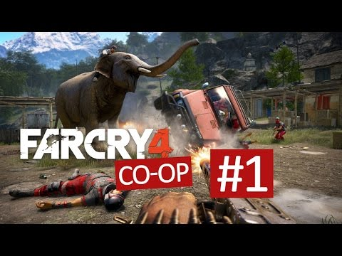 DualDGaming spelar Far Cry 4 Co-op - #1 - Golden AK-47