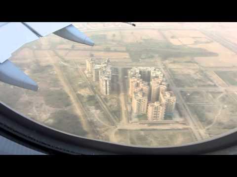 Airbus A340 600 Landing New Delhi Airport Canon Powershot SX230HS