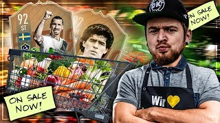 FIFA 19 | HARDCORE BUY First SPECIAL GUY Throwback Challenge 😱🔥 vs Der Boy