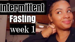 Intermittent fasting (1 week) update | Weight Loss 2020| Journey |