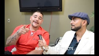 "KO EXCL! ANDY RUIZ RESPONDS TO TYSON FURY'S ""BUM"" COMMENT,  ANTHONY JOSHUA REMATCH & MORE!"