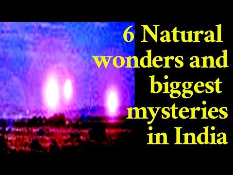 6 natural wonders in india telugu | secret of 6 biggest unusval mysteries in telugu |