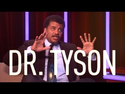 Dr Neil deGrasse Tyson interview part 1 - On The Verge