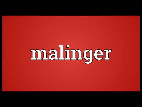 Header of malinger