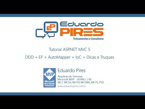 Tutorial ASP.NET MVC 5 + DDD + EF + AutoMapper + IoC + Dicas e Truques