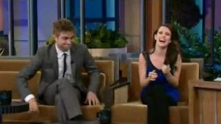 Preview Robert Pattinson on Jay Leno Show - Emma Roberts On Team Jacob Subtitulado