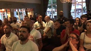 England Fans Stunned At Semi-Final Defeat - Russia 2018 World Cup