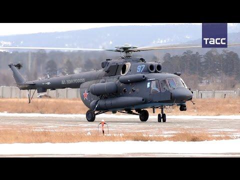 """Кадры первого полета """"арктического"""" вертолета ВМФ России"""
