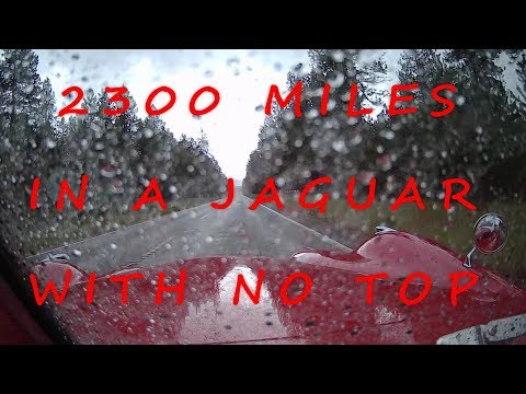 2300 Miles in a Jaguar with no Top, One Man's Epic Journey