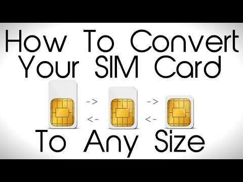 how to put a micro sim into an old phone