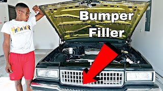 Adding new bumper fillers to my Box Chevy