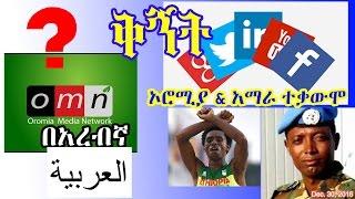 omn በአረብኛ - ኦሮሚያ እና አማራ ተቃውሞ omn in Arabic and Oromia and Amhara protest - DW (Dec 30, 2016)