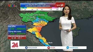 Cơn bão số 3 bắt đầu ảnh hưởng đất liền từ chiều 18/07 - Tin Tức VTV24