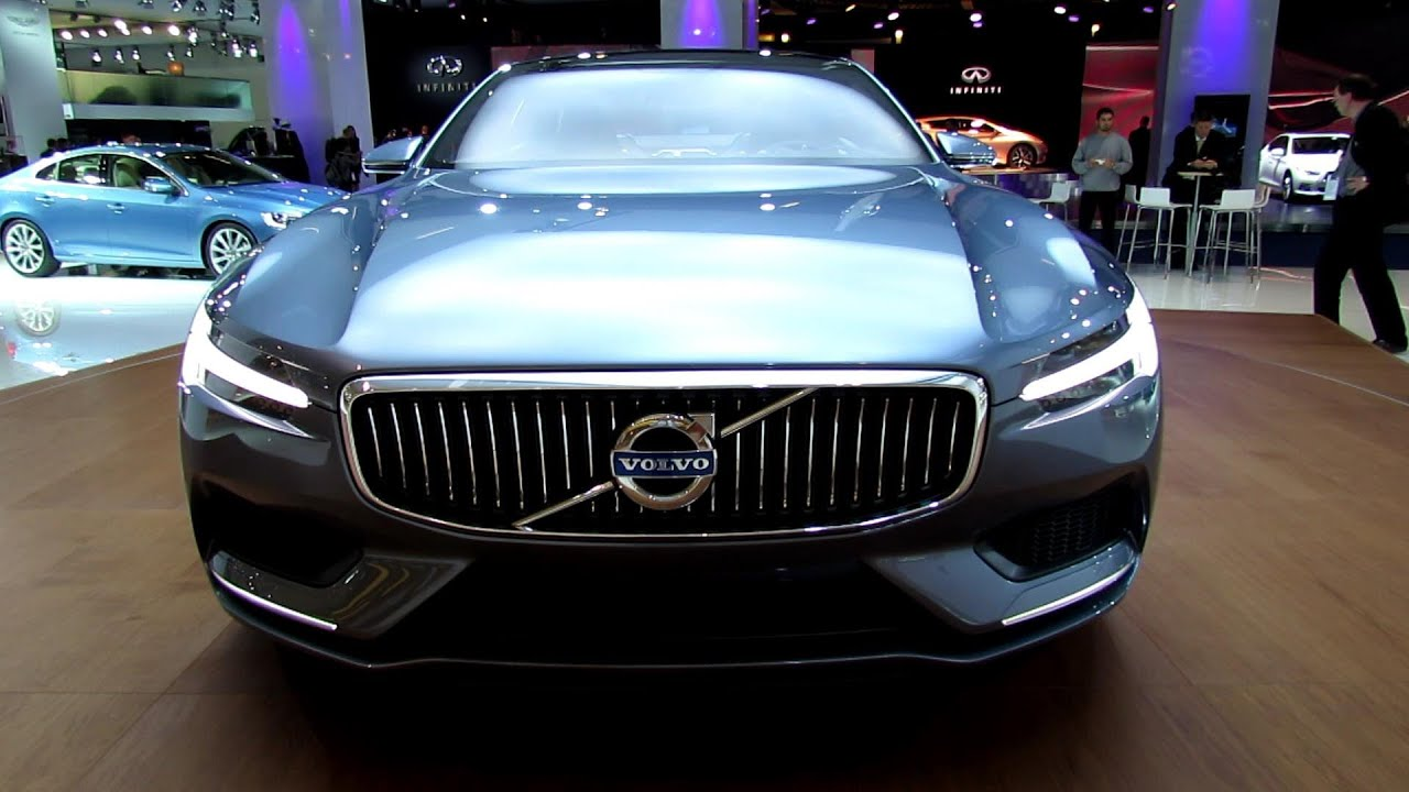 2015 Volvo Coupe Concept Exterior And Interior