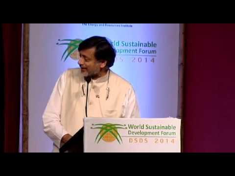 DSDS14: Dr. Shashi Tharoor, India