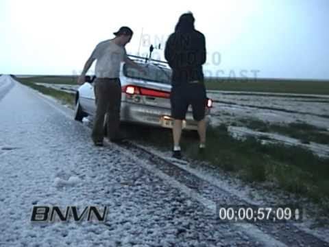 4/28/2003 Fort Morgan Colorado Hail Storm Video