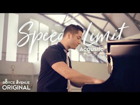 Boyce Avenue - Speed Limit (acoustic) On Itunes & Spotify video
