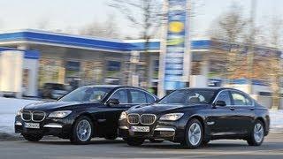 Audi A1, VW Passat, BMW 740 - Diesel gegen Benziner Verbrauchstest