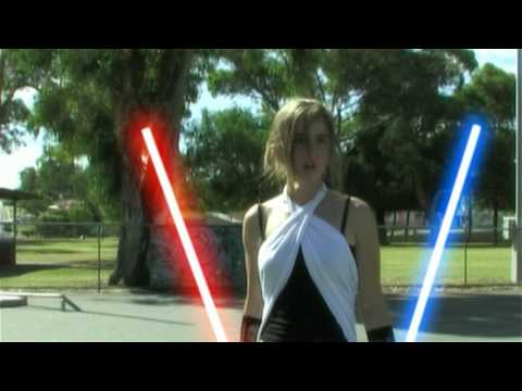 SKATE WARS - Episode 1 - A HOT JEDI CHICK