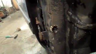 Кузовной ремонт.Opel Vectra.  Как снять двери?