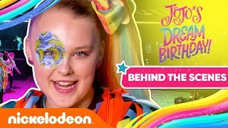 JoJo Siwa 'WORLDWIDE PARTY' Music Video 🎬 Behind the Scenes | Nick