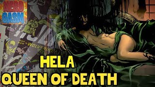 Who is Hela? History of Hela, Daugher of Loki, and Queen of Death