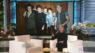 One Direction joke (Part 5) - Ellen TV show (funny underwear joke with Ellen`s funny mom)