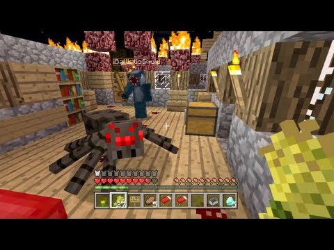 Minecraft Xbox The Infected Temple Plane Crash Part 1