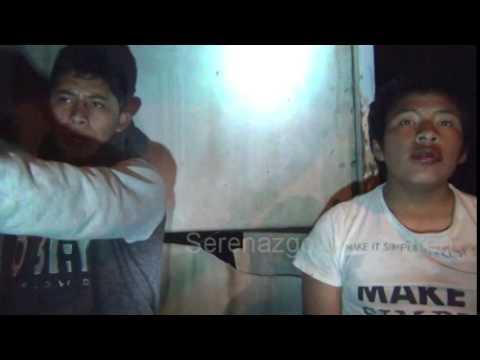 SERENAZGO CAJAMARCA - Menores infractores/ Frustro robo/Arma blanca/27-10-14