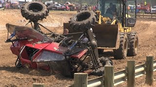 Mud Truck Wrecks Compilation 2017