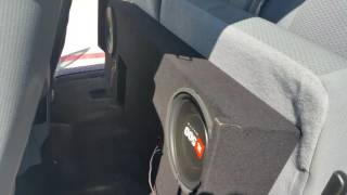 JBL x2 10inch Subwoofers - 2012 Ford F-150 Extended Cab