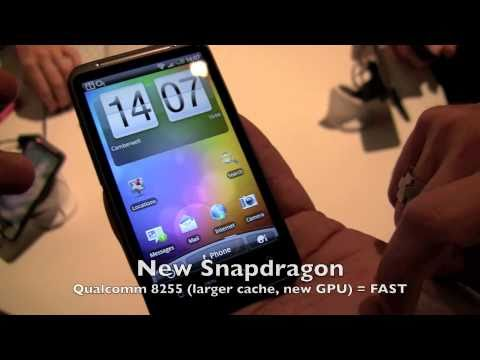 Hands on HTC Desire HD Ace Android 2 2 Froyo smartphone