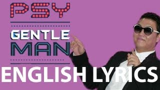 Watch Psy Gentleman English video