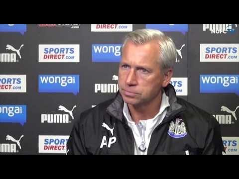Alan Pardew Speaks Ahead Of Leicester