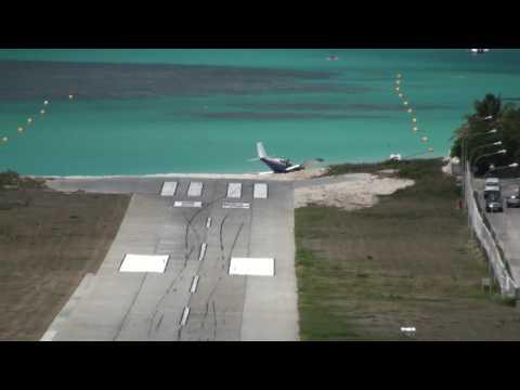 Plane Crash In The Caribbean - SBH St. Barth
