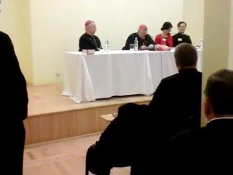 Kardynał Raymond Burke W Poznaniu