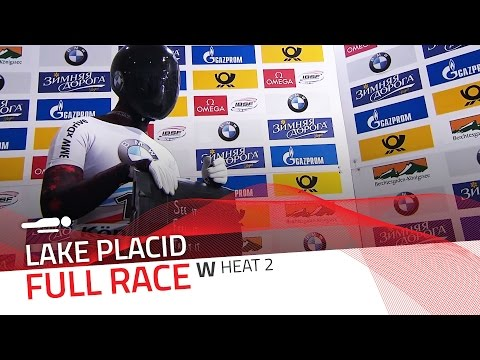 Lake Placid | BMW IBSF World Cup 2015/2016 - Women's Skeleton Heat 2 | IBSF Official
