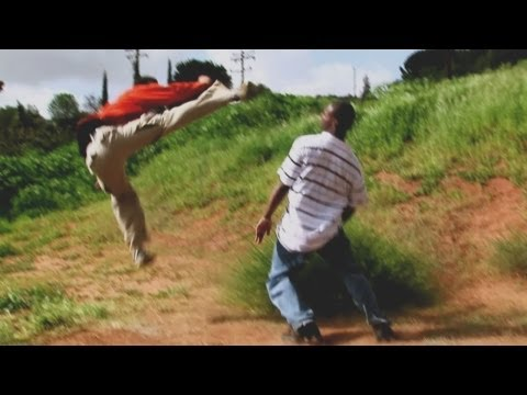 Kung Fu vs Karate Street Fight Scene