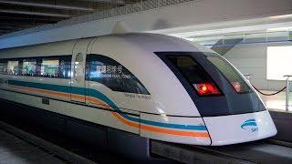 Phát minh Hệ thống giao thông mới hiện đại Tàu đệm từ chi phí xây dựng 0 usd/1km