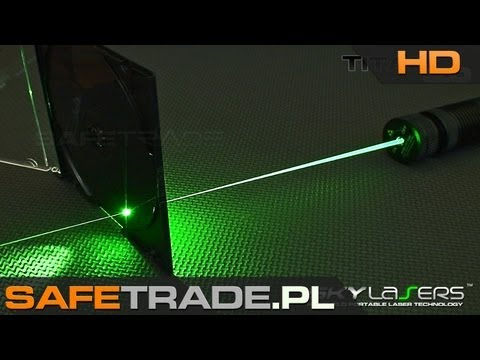 [SKY-04] SkyLasers TITAN 3.0 532nm 300mW Powerful Green Laser Pointer Review Burning Test Extended