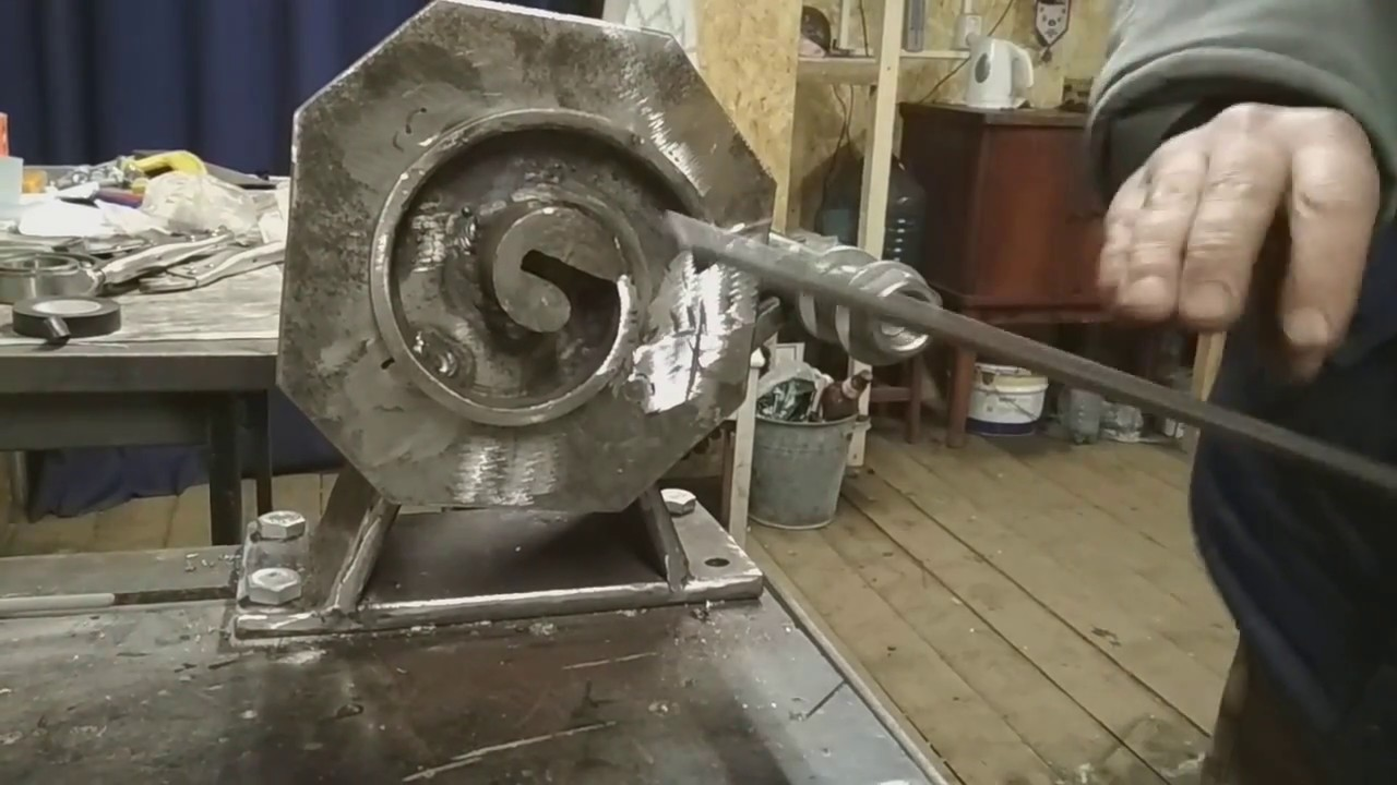 Изготовление станка для холодная ковка своими руками 198