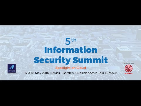5th Information Security Summit : Live Interview with Victor Lo