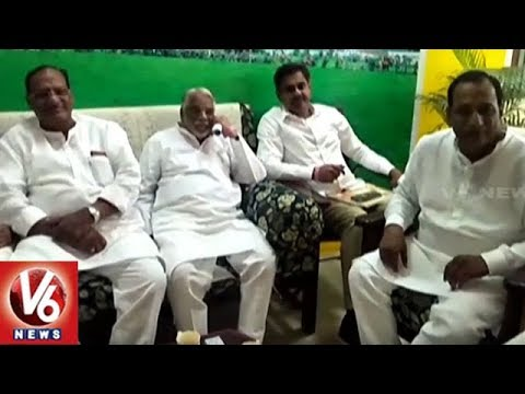 TRS MPs And MLAs Visits Cherlapally Jail, Meets Prisoners | V6 News