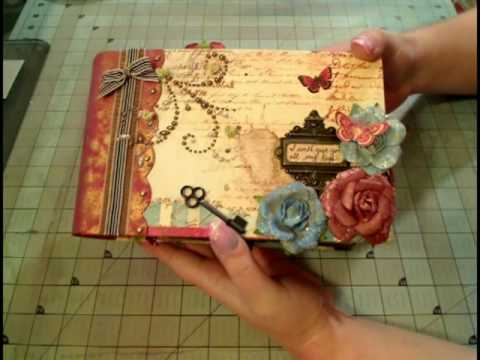Scrapbook Mini Album: Prima