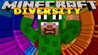 Minecraft Adventure - Diversity 2 - THE DROPPER CHALLENGE