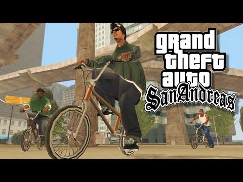 GTA San Andreas Aniversário de 10 anos do GTA SA Versão Xbox 360 HD