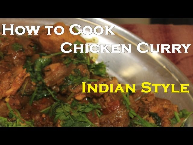 How to cook Chicken Curry in Indian Style | Chicken Recipes | Cooking with Anil