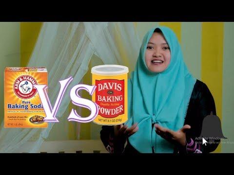 Perbedaan Antara Baking Soda Dan Baking Powder Yang Harus Kamu Ketahui